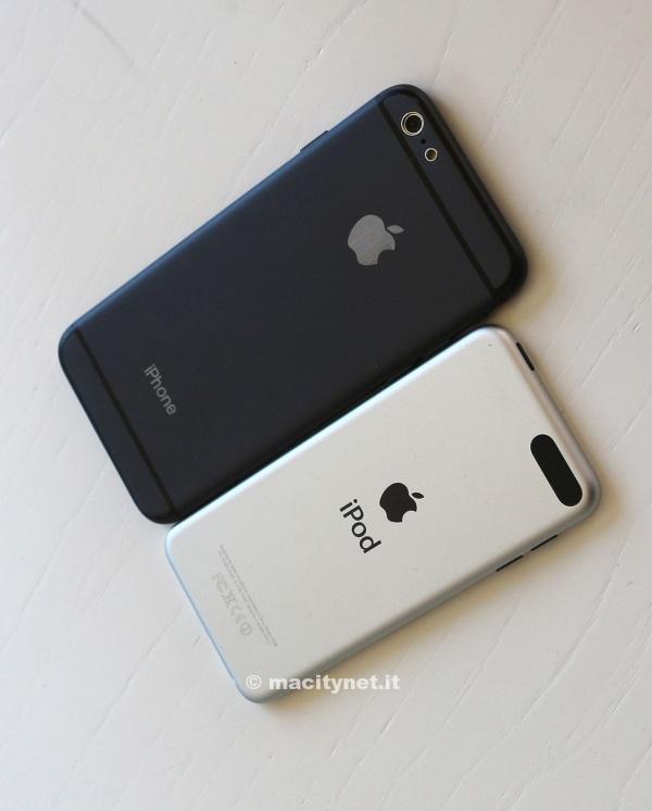 苹果6手机模型矢量图